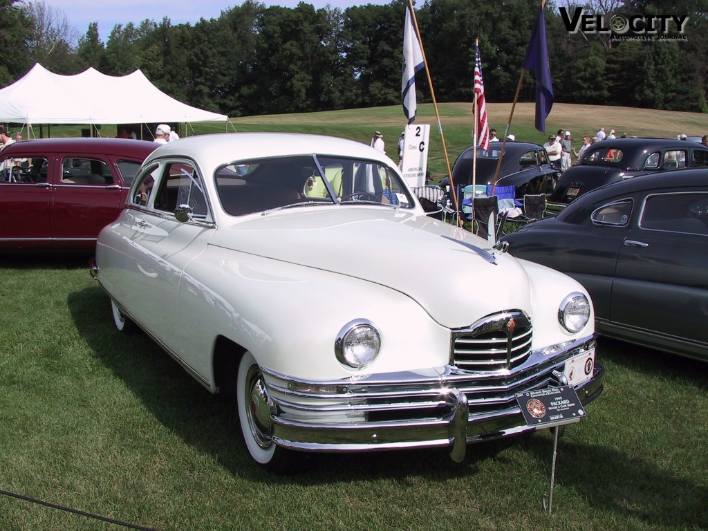 1949 Packard Deluxe & Club Sedan