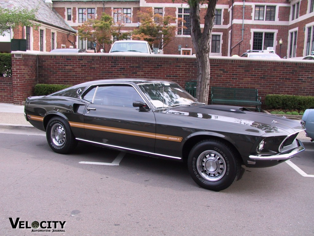 1969 Ford Mustang Fastback Pictures Mach 1 I