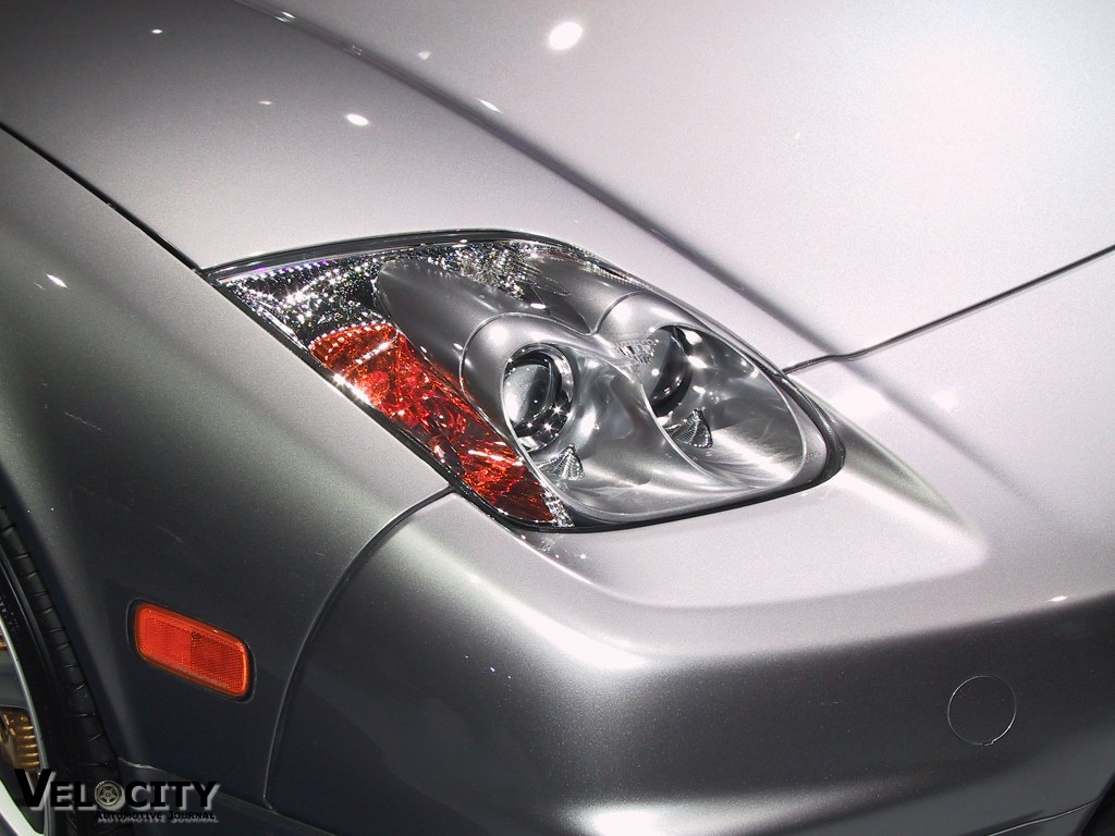 2002 Acura NSX headlight detail