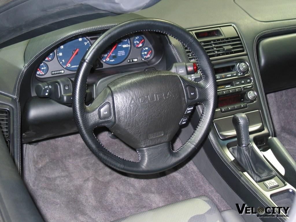 2002 Acura NSX instrumentation