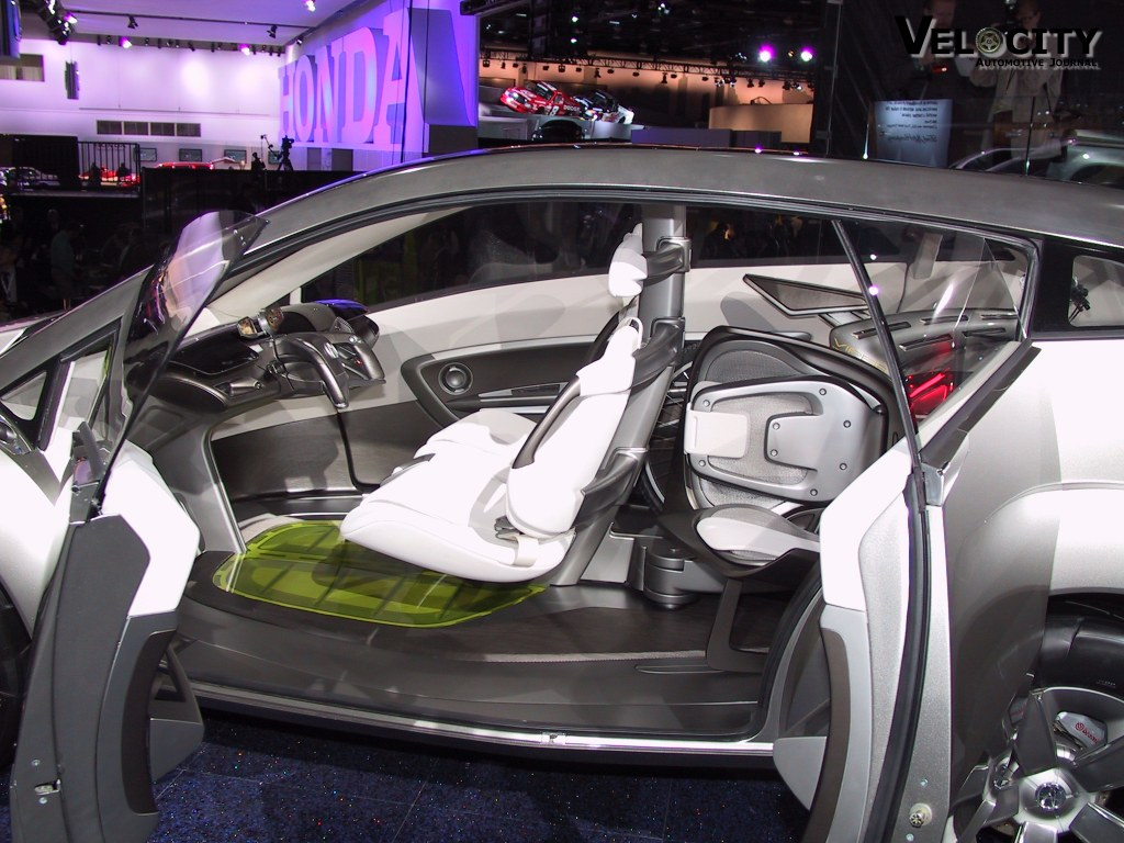 2002 Acura RD-X concept interior
