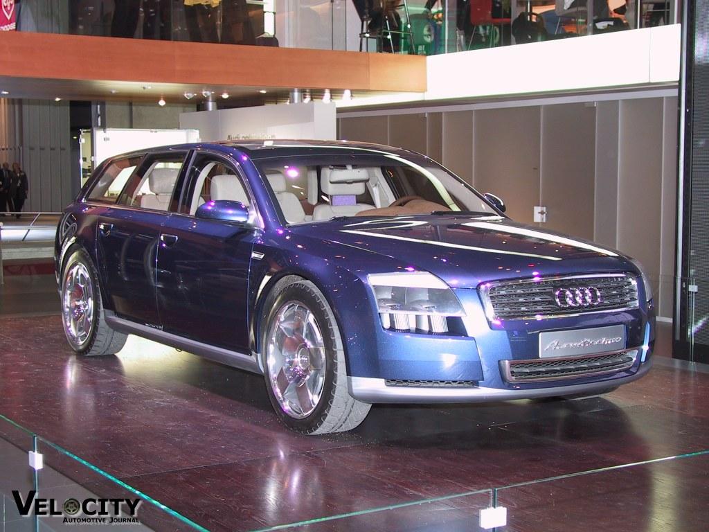 2001 Audi Avantissimo concept