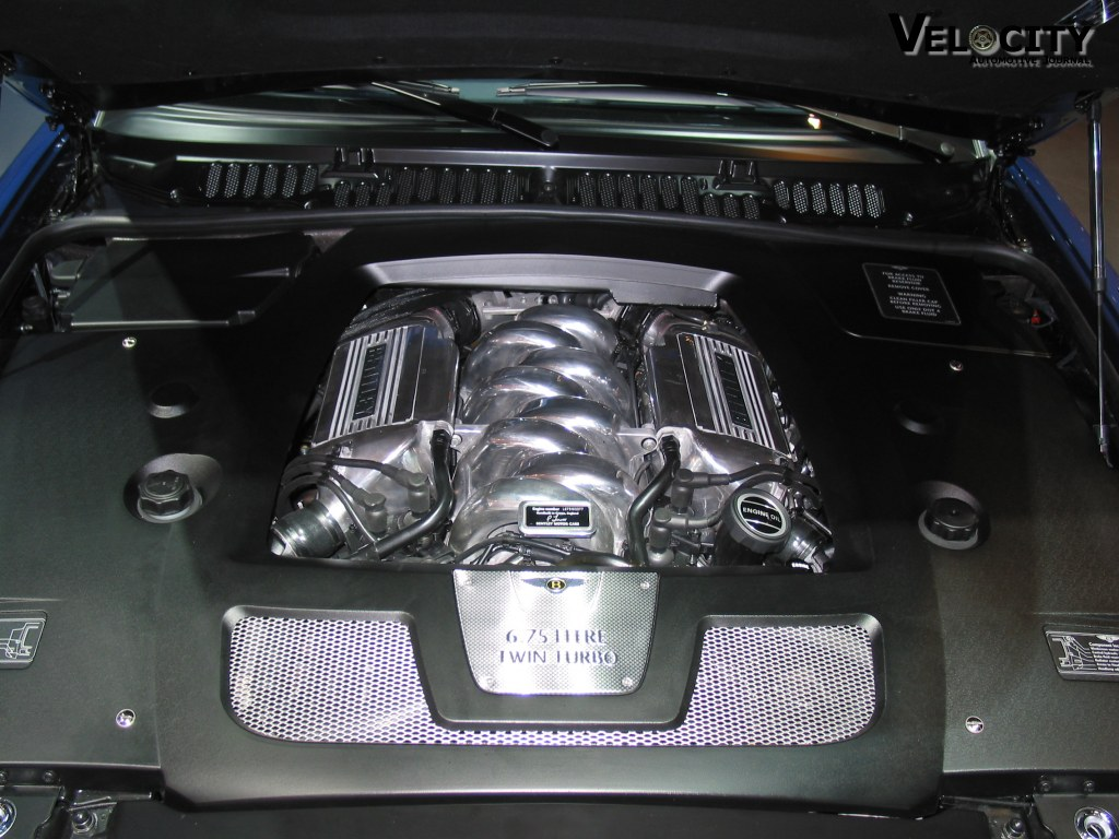 2002 Bentley Arnage T engine