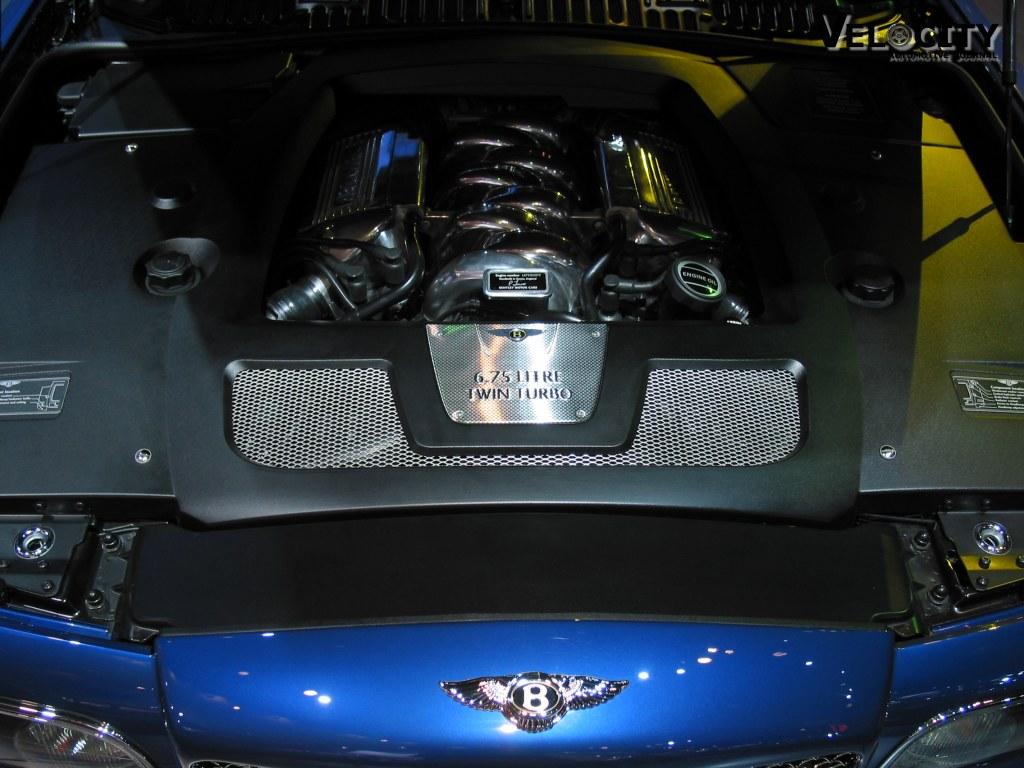 2002 Bentley Arnage T engine