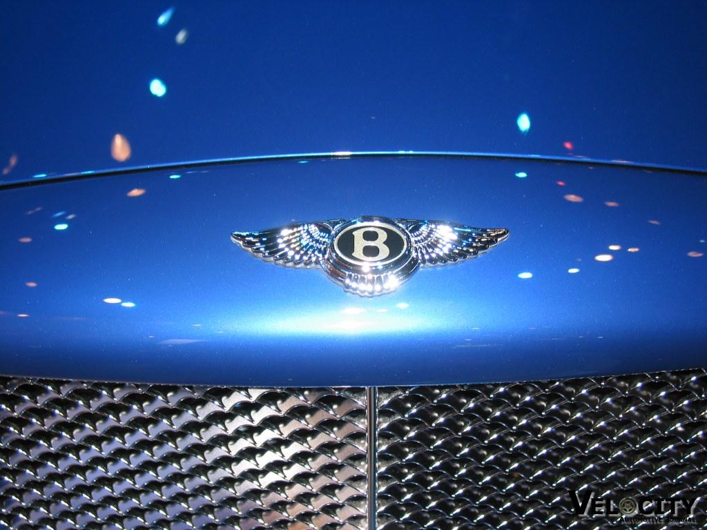 2002 Bentley Arnage T hood ornament