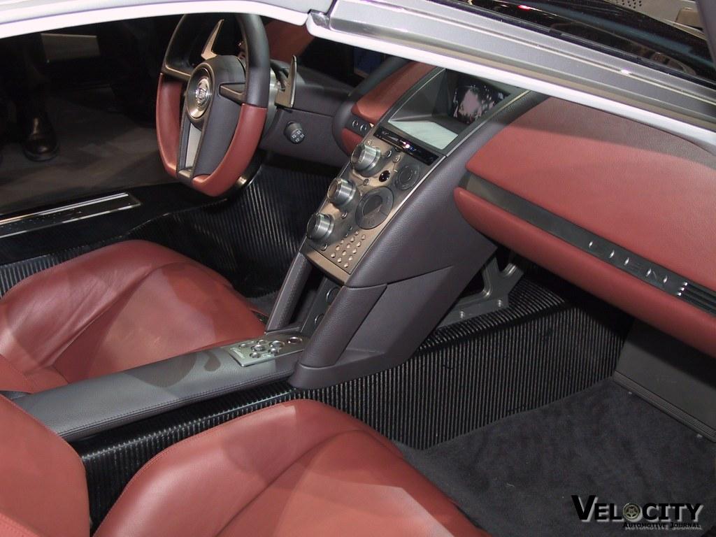2002 Cadillac Cien concept interior