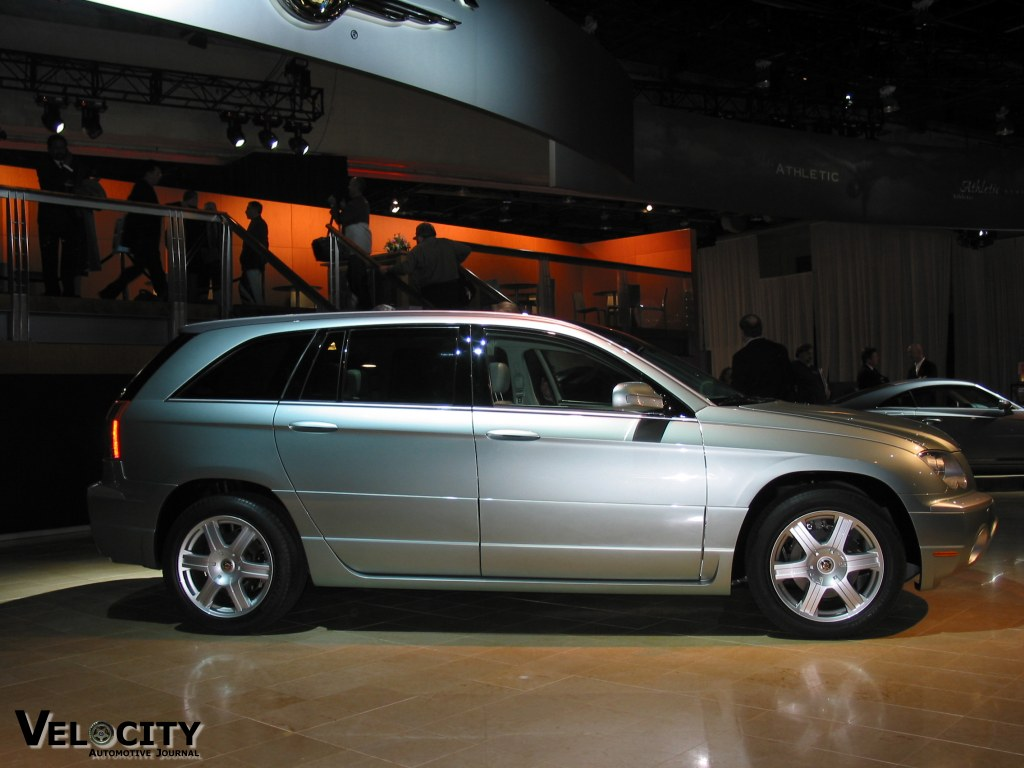 2002 Chrysler Pacifica production concept