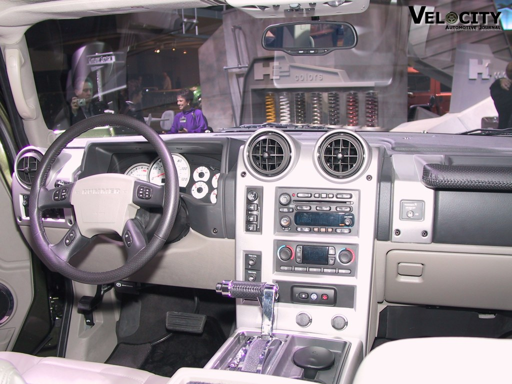 Picture of 2003 hummer h2 2003 hummer h2 interior vanachro Images