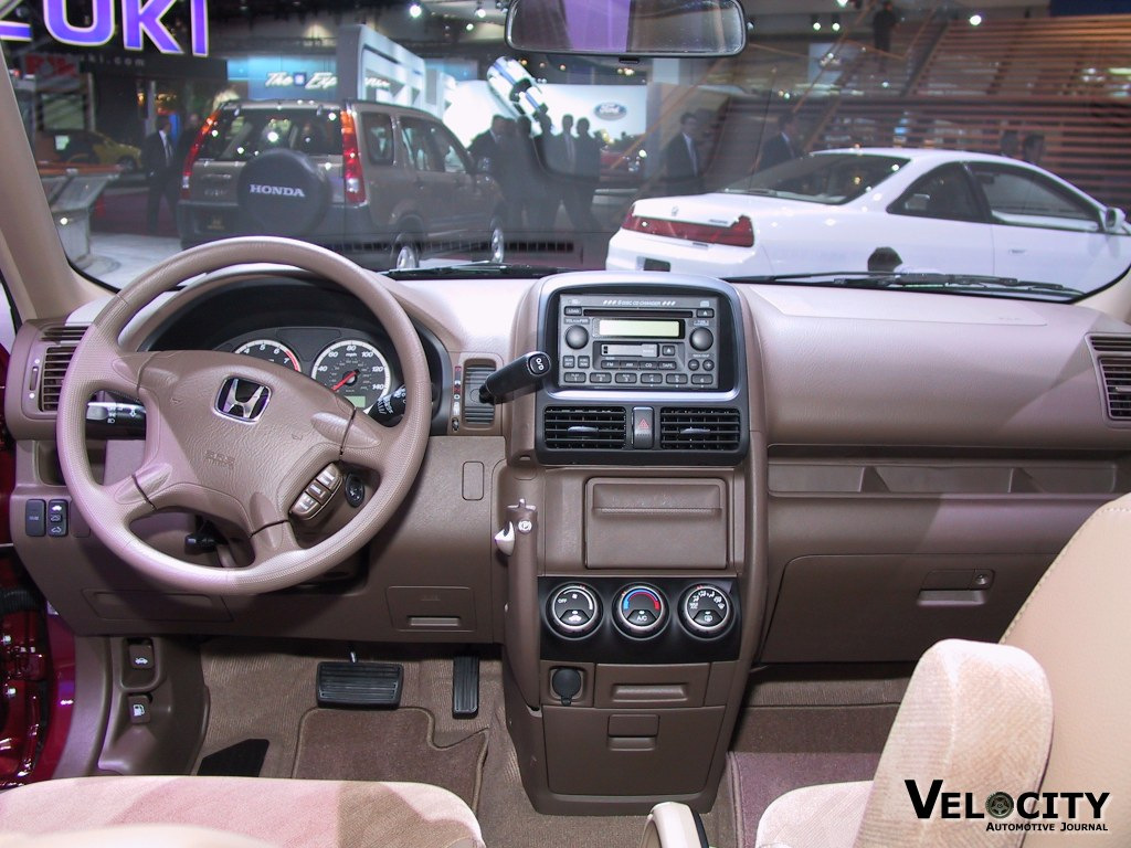 2002 Honda CR-V instrumentation