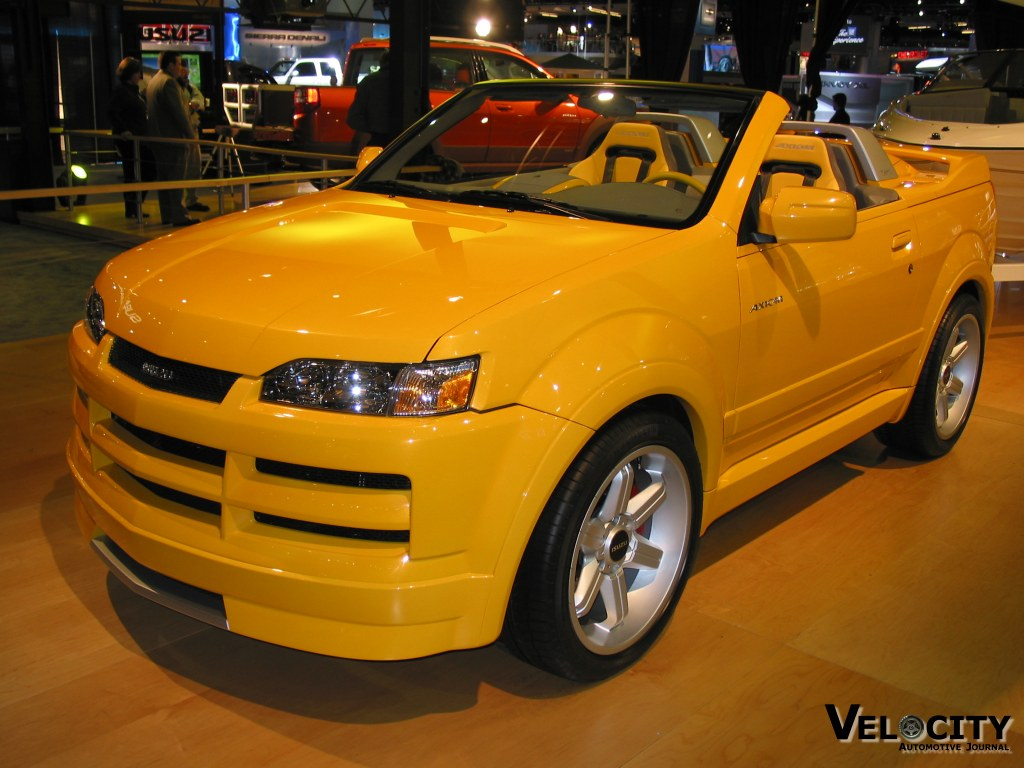 2002 Isuzu Axiom XSR Sport Roadster concept