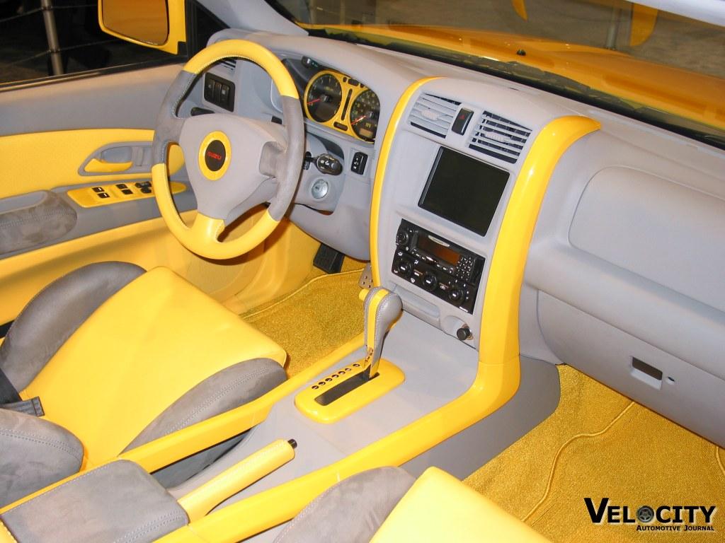 2002 Isuzu Axiom XSR Sport Roadster concept interior