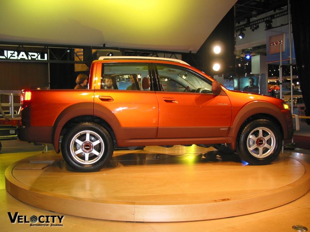 2002 Isuzu Axiom XST Sport Utility Truck concept