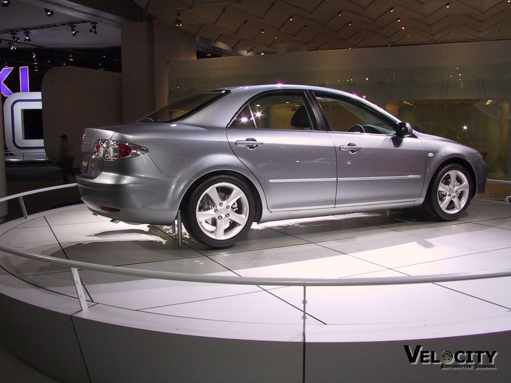 2003 Mazda 6 cutaway