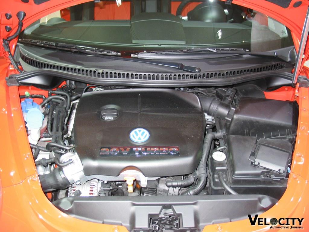 2002 Volkswagen Beetle GLS 1.8T engine