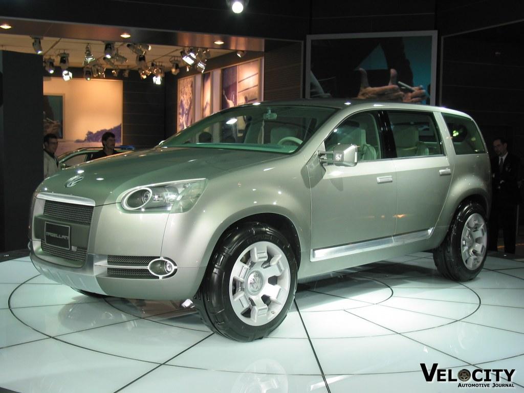2002 Volkswagen Magellan concept