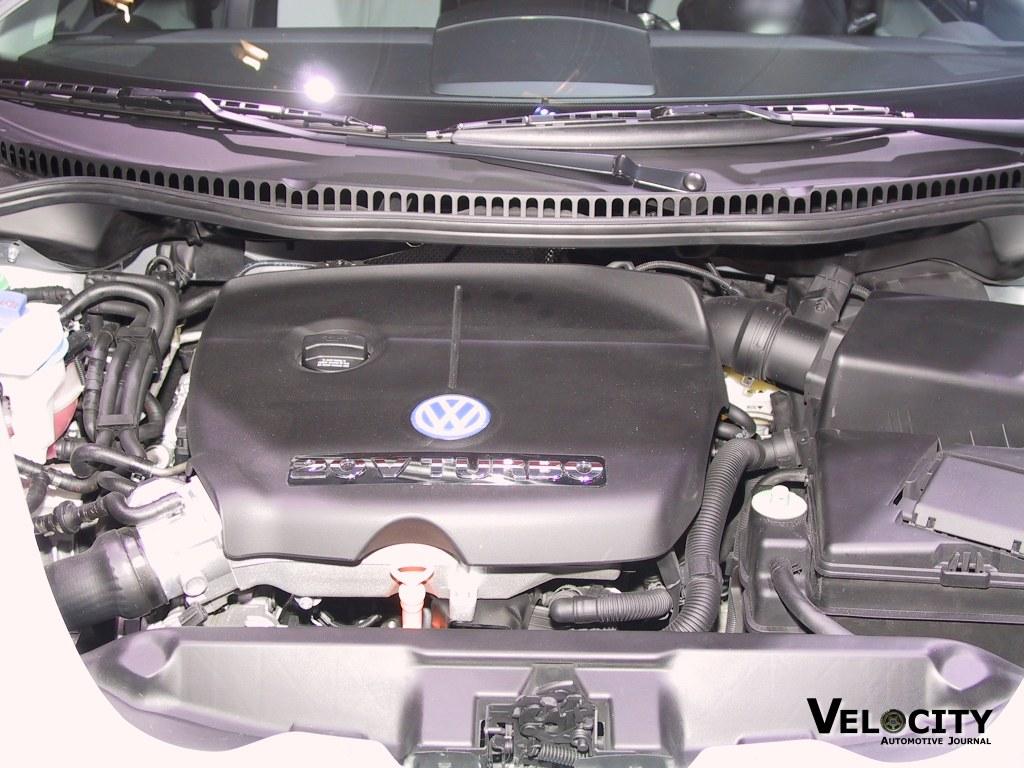 2003 Volkswagen Beetle Turbo S engine