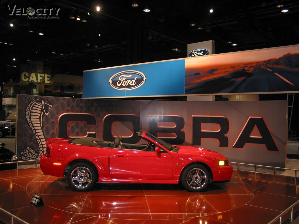2003 Ford SVT Cobra convertible
