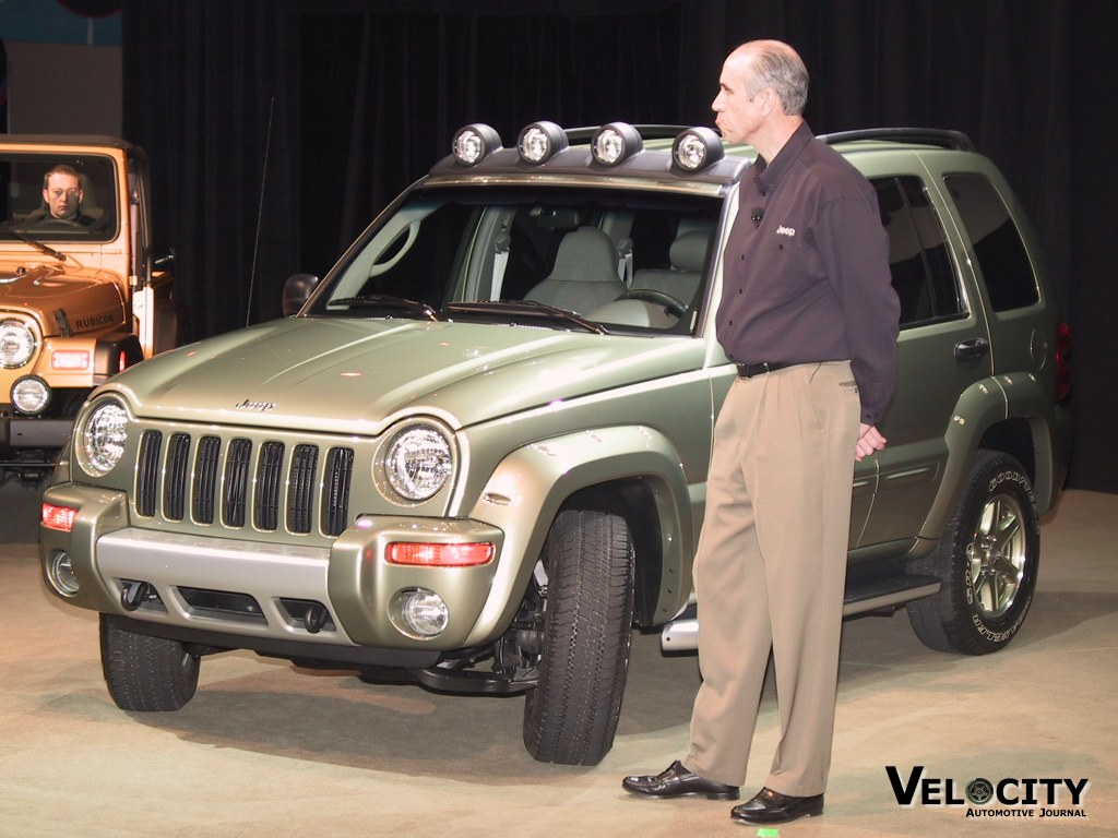 2002 Jeep Liberty Renegade (pictured with Craig Love)