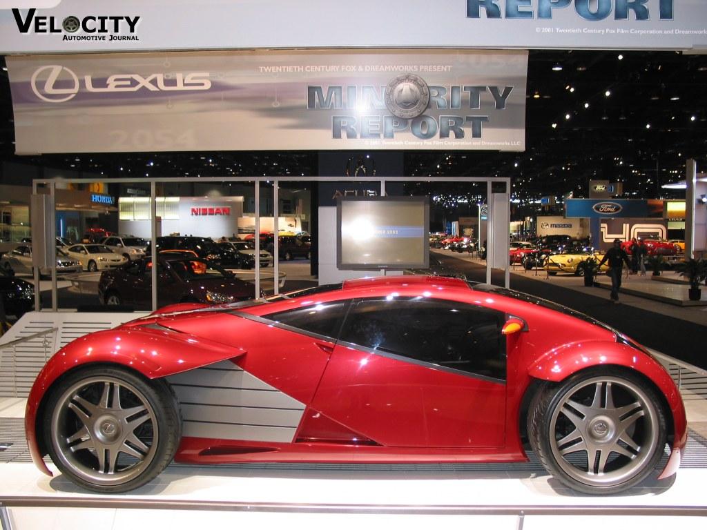 Lexus Minority Report movie car