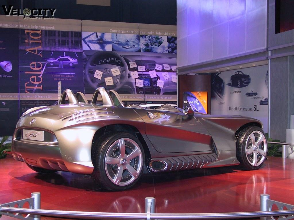 2001 Mercedes-Benz F400 concept