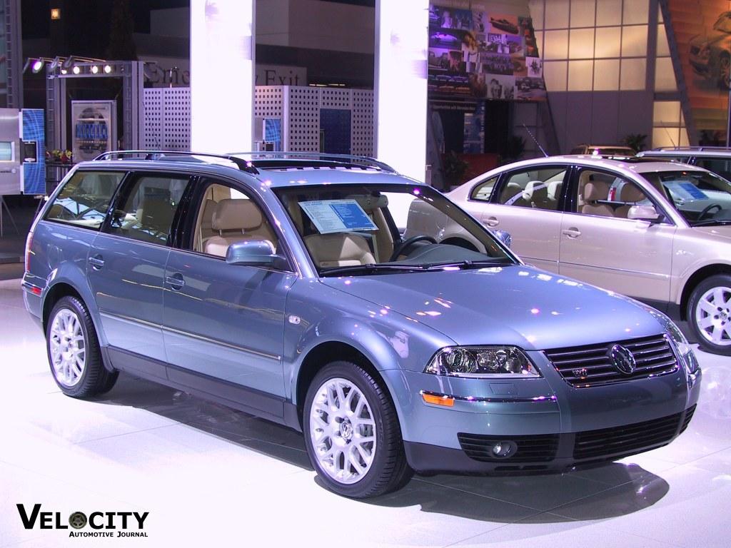 2002 Volkswagen Passat W8 wagon
