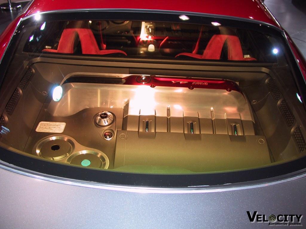 2002 Acura DN X concept engine
