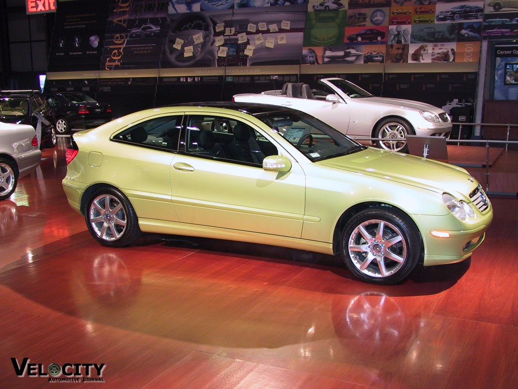 2002 Mercedes-Benz C230 Sport Coupe