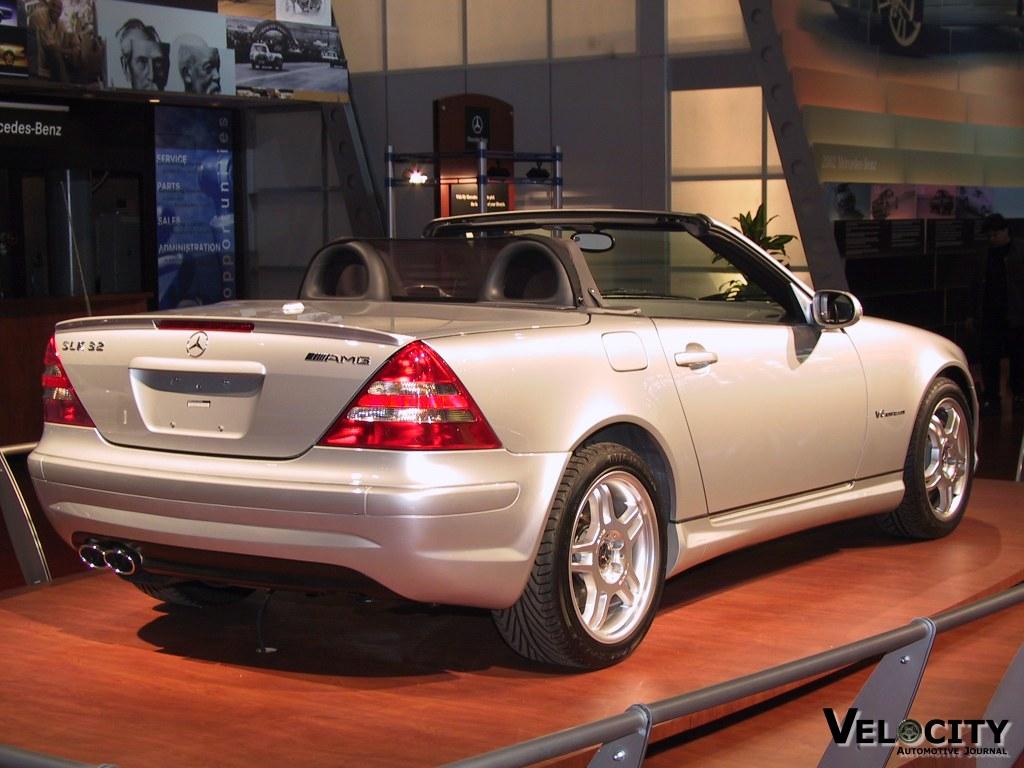 2002 Mercedes-Benz SLK32 AMG
