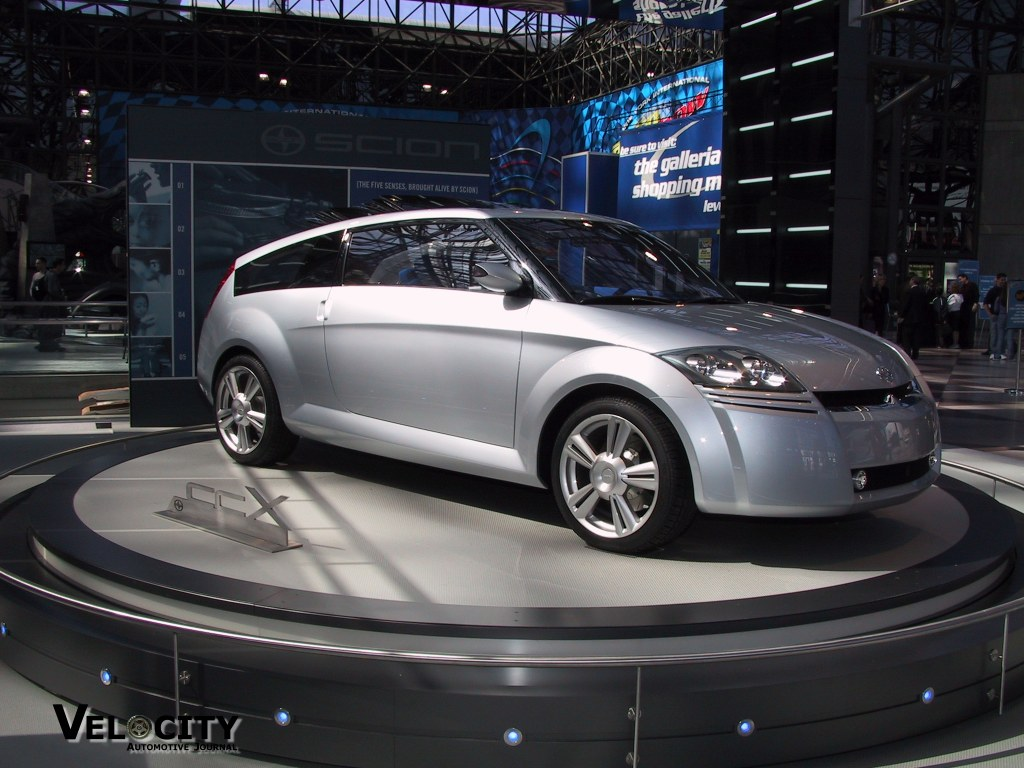 2002 Scion ccX concept