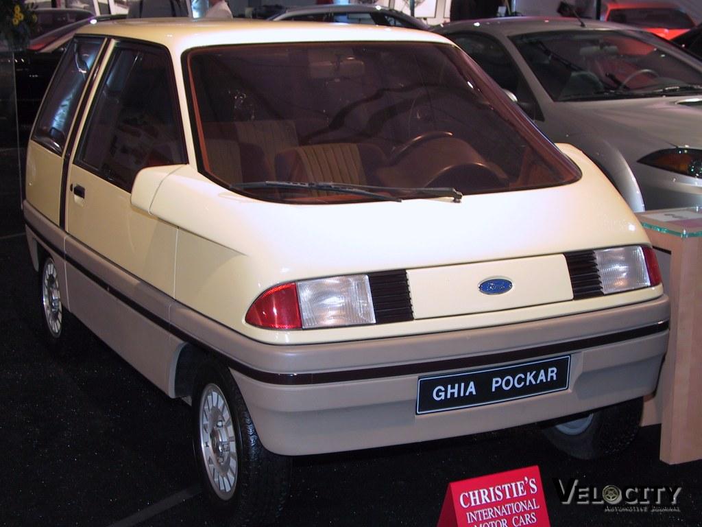 1981 Ford Ghia Pockar Concept