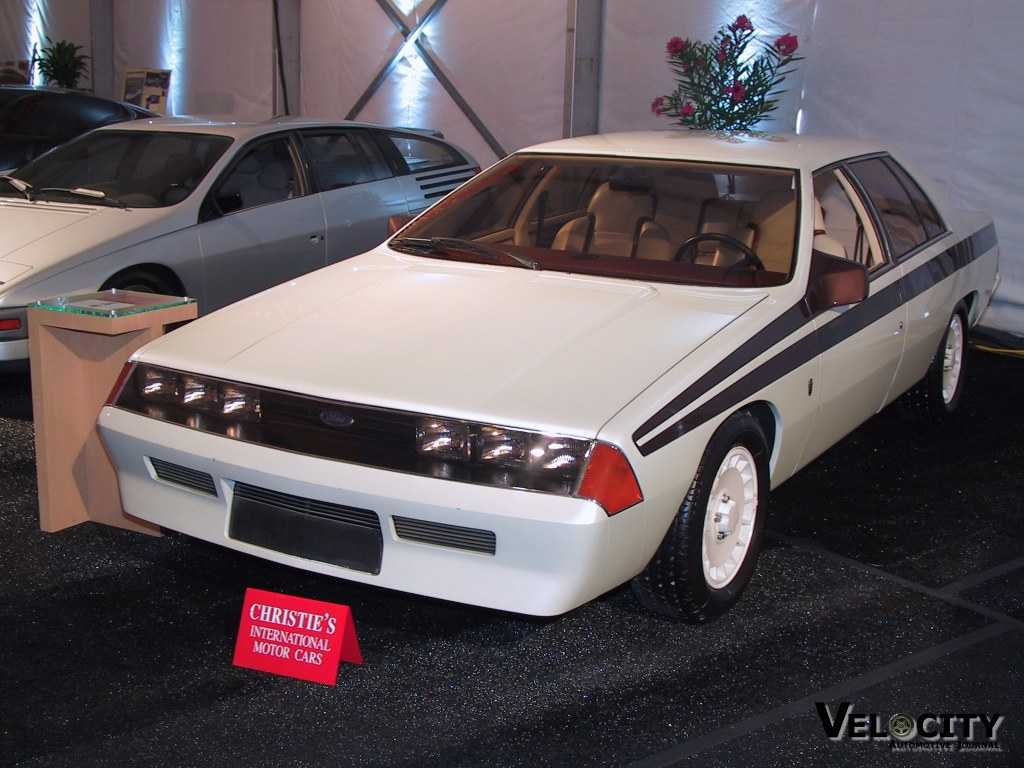 1983 Ford Ghia Altair information