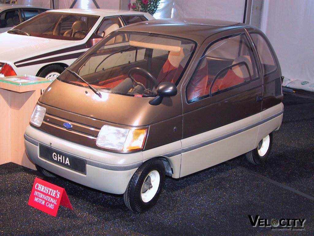 1983 Ford Ghia Trio Concept