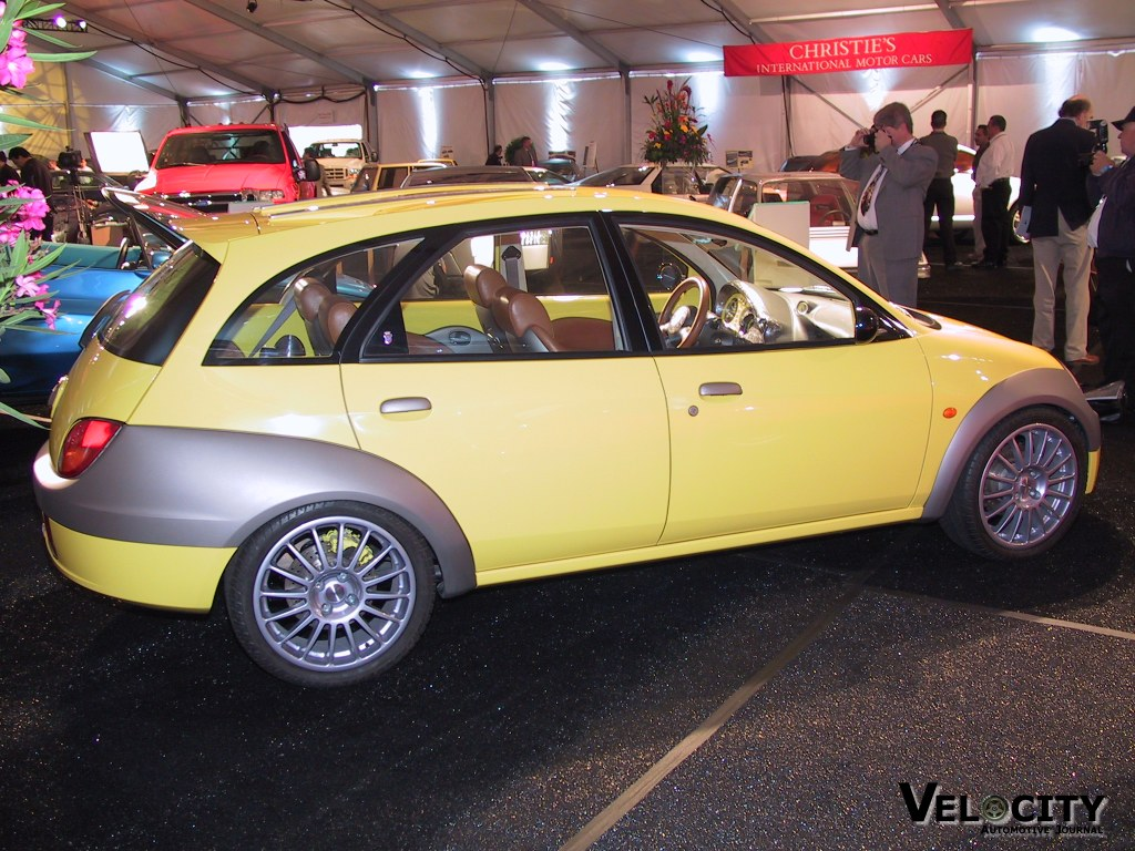 1998 Ford Ghia Turing Ka Concept