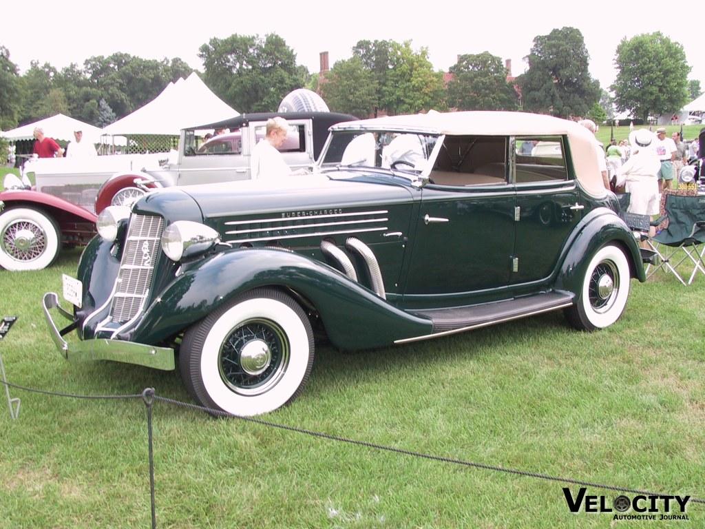 1936 Auburn Supercharged Phaeton