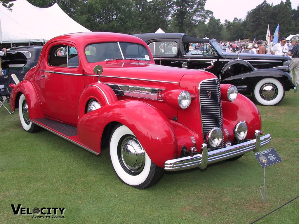 1936 Cadillac Model 60 Deluxe Coupe