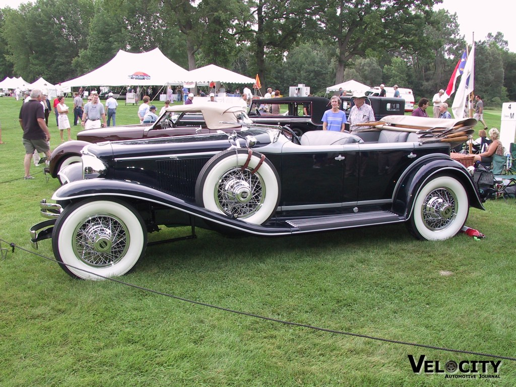 1930 Cord L29 Rollston Sport Touring Phaeton