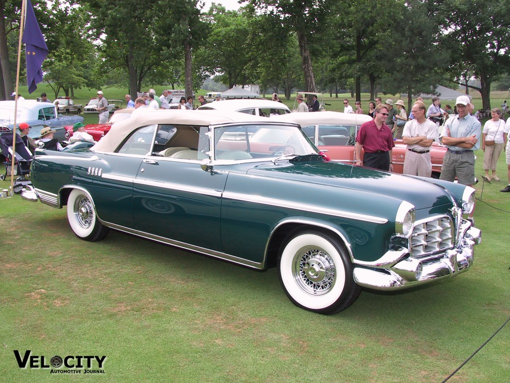 1955 Chrysler Imperial Prototype Convertible