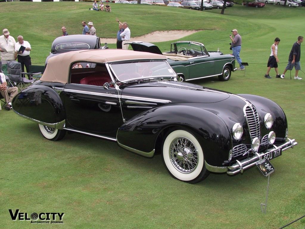 1948 Delahaye Cabriolet Type