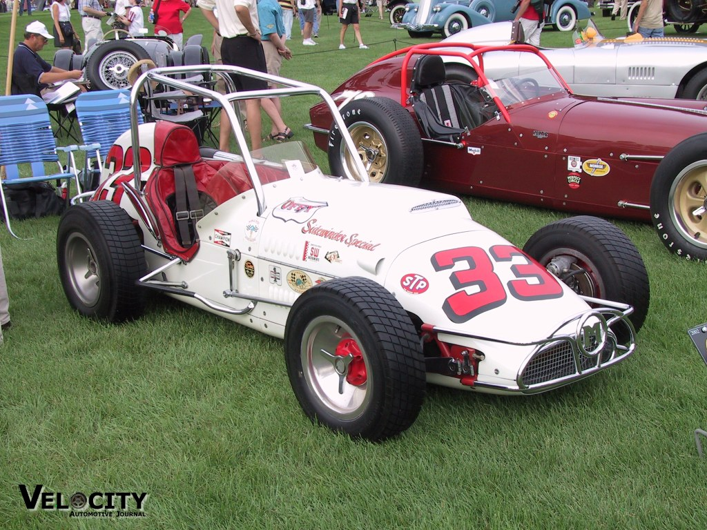 1958 Kurtis Kraft Roadster Race Car