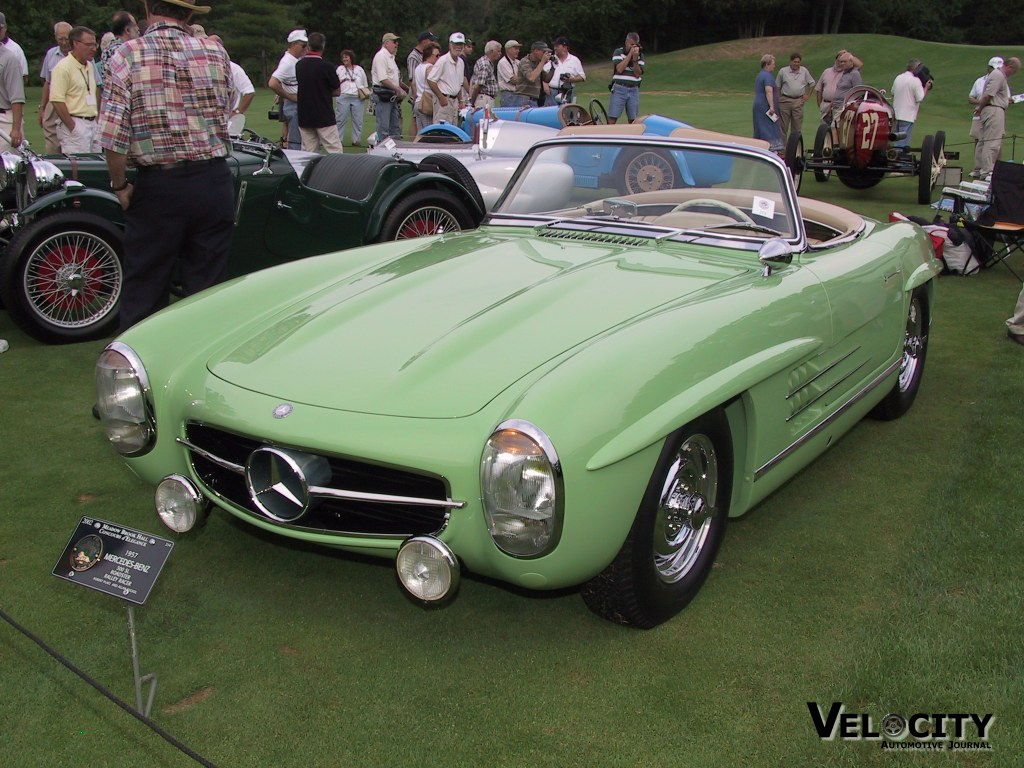 1957 Mercedes Benz 300SL Roadster Rally Racer