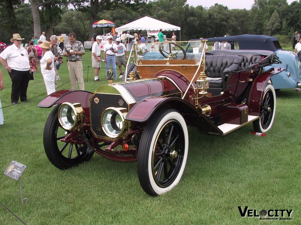 1911 Pierce Arrow Model 36 4-Passenger Toneau