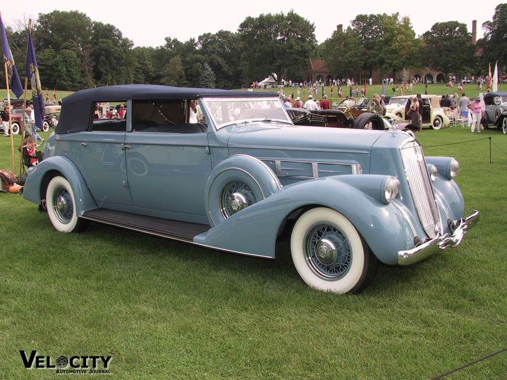 1936 Pierce Arrow 1601 Convertible Sedan