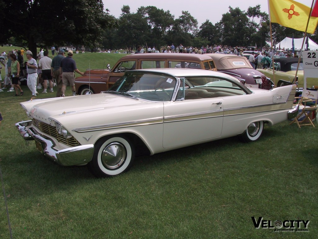1957 Plymouth Fury 2-door Hardtop