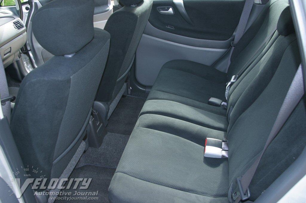 2004 Suzuki Aerio SX Wagon Interior