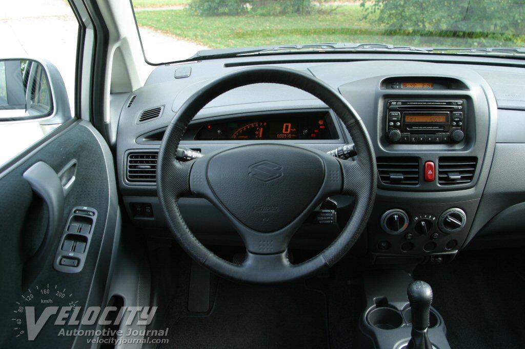 2004 Suzuki Aerio SX Wagon Instrumentation