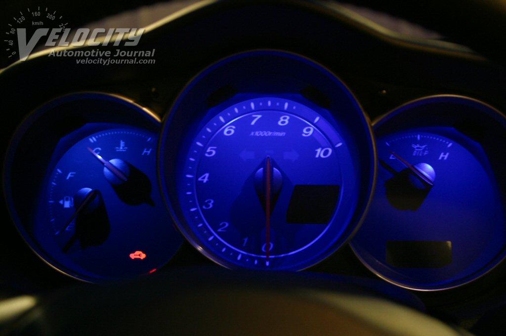2004 Mazda RX-8 Instrumentation