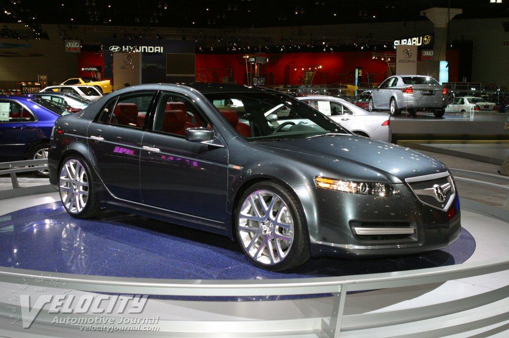 2009 Acura Tl Aspec Concept Car Pictures
