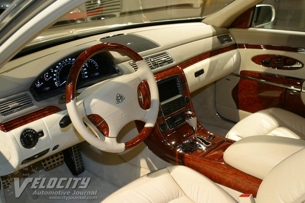 2004 Maybach 57 Interior