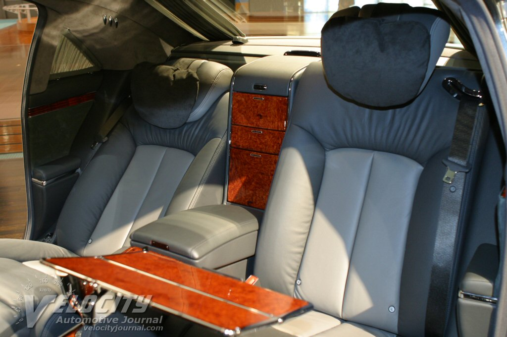 2004 Maybach 62 Interior