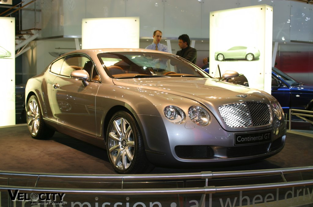 2002 Bentley Continental GT concept
